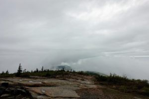 Cadillac Mountain is one of more than 20-mountains on Mount Desert Island, Maine that were pushed up by earth's tectonic and volcanic forces millions of years ago.