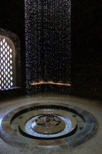 Just inside, we saw this beautiful rain curtain.