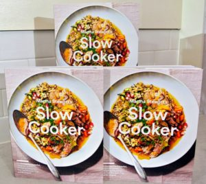 """And of course, you can always order my latest book, """"Martha Stewart's Slow Cooker: 110 Recipes for Flavorful, Foolproof, Dishes, Plus Test-Kitchen Tips and Strategies"""". Don't forget to tune-in to QVC tomorrow, October 18th! https://www.amazon.com/Martha-Stewarts-Slow-Cooker-Strategies/dp/0307954684"""