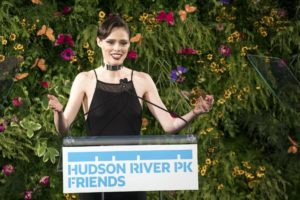 Canadian model, Coco Rocha, helped guide the festive dinner program. (Photo by 8SP_Simon Luethi)