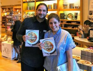 Williams Sonoma staff members were also excited about the book - these two already picked several recipes they wanted to make.