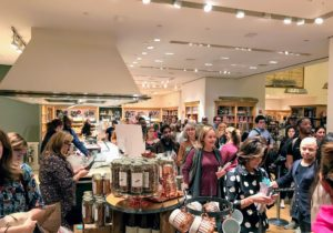 "It was great to see such an enthusiastic group of people excited about ""Slow Cooker"". Guests were instructed to pick up the book, get it signed, do some shopping and then pay for their purchases."