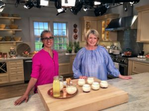 Homa Dashtaki left her corporate job as a finance lawyer to follow her passion - making yogurt. On this show, I'll show you how to make lemon-yogurt cupcakes with fresh raspberry frosting. I'll also show you how to make delicious sticky buns and pound cake - great ideas for those school bake sales. http://thewhitemoustache.com/