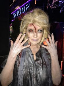 """And if you watch my show, """"Martha and Snoop's Potluck Dinner Party"""", you likely recognize this from last week's episode where I dressed as a zombie. My TV show airs on Mondays at 10/9c on VH1."""