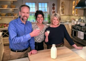 """And Daniel Horan, CEO of Five Acre Farm - one of my favorite sources for buttermilk. Learn why it's so good for you on this episode of """"Martha Bakes"""". I'll also make three delicious breakfast dishes - an Irish-style brown bread made with hearty rye flour, airy and light whole-wheat popovers, and whole-wheat date nut quick bread. """"Martha Bakes"""" premieres this weekend - be sure to watch on PBS! http://www.fiveacrefarms.com/"""