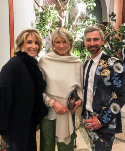 Here I am with Sequential Brands Group CEO, Karen Murray, and Sequential FP & A Director, Dana Spitler. Everyone loved Dana's suit.
