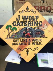 Some of the local vendors included J Wolf Catering - they specialize in serving farm to table, organic and non-GMO foods. http://www.jwolfcatering.com