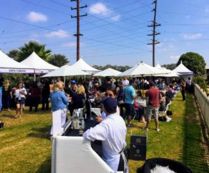 Hundreds of guests attended the event - it was a great time for anyone who has a great appreciation for food.