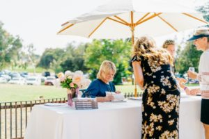 """Later in the day, I hosted a book signing for """"Slow Cooker"""". I always enjoy these events because I get to meet so many different people. (Photo taken by Brandon Bibbins)"""