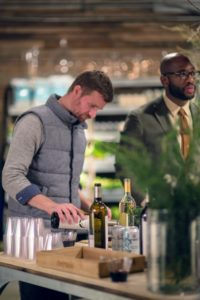 Our bartenders couldn't fill glasses fast enough - everyone loved these wine selections. (Photo by Katie Hennessey)