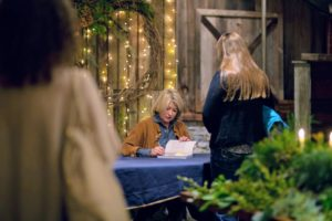 I signed more than 200-books - that's a lot of books, but I am certainly accustomed to it, and I always enjoy these book signing events. (Photo by Katie Hennessey)