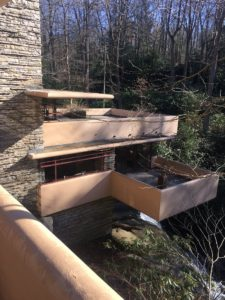 """""""We also took a road trip to see the Fallingwater by Frank Lloyd Wright. This magnificent architecture is so inspiring."""""""
