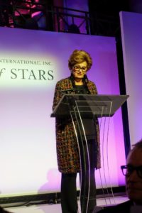 To start the awards presentation, Margaret Hayes, President of The Fashion Group International, Inc. welcomed all the guests to the event.