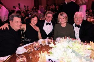 """I was very honored to attend The Fashion Group International's annual """"Night of Stars"""" Awards. It was held at New York City's Cipriani Wall Street. I sat with QVC CEO, Mike George, at the QVC table."""