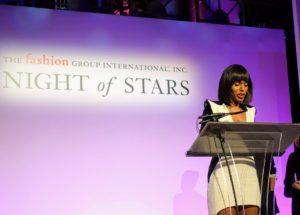 Actress Kerry Washington flew in from the west coast and was presented with the Lord & Taylor Fashion Oracle Award. She spoke about fashion as a language of modern expression.