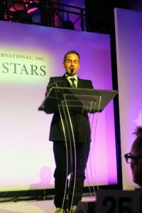 Designer Marc Jacobs was also there - he presented the Board of Directors' Media Award to WWD's Bridget Foley.