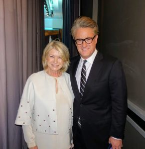 Behind stage, I stopped for a quick photo with cable news and talk radio host, and co-host of Morning Joe on MSNBC, Joe Scarborough.