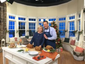 And here I am with QVC host, David Venable at the end of our segment. I'll see you again Monday with more pieces from my new Fashion Collection. Be sure to follow my social channels for time updates - Twitter @MarthaStewart and Instagram @MarthaStewart48.