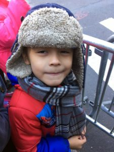 It was her son, Alexander's, first Macy's Thanksgiving Parade!