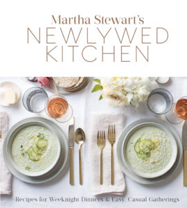 "And I am so excited about this newest publication, ""Martha Stewart's Newlywed Kitchen"" - it is chock full of ideas and recipes for newlyweds who enjoy cooking together and eating together. Get your copy today! goo.gl/hbLXCr"