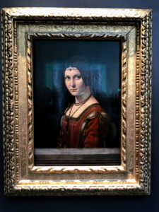 "Another well-loved piece at the museum is ""La Belle Ferronnière,"" by Leonardo da Vinci."