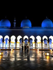 The Sheikh Zayed Mosque is the largest mosque in the country, and the key place of worship. It was designed by Syrian architect Yousef Abdelky and covers an area of more than 30-acres.