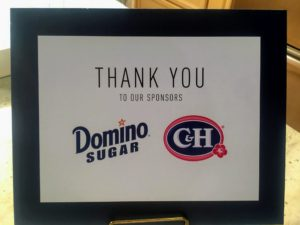 Thank you, Domino Sugar, for all your support all these years. Go to Domino Sugar's web site for more baking tips and information on their products. https://www.dominosugar.com
