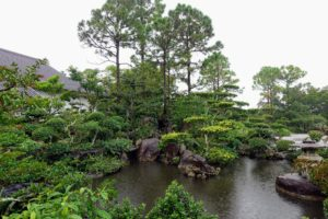 "The Gardens were designed by the award-winning landscape master, Hoichi Kurisu, who wanted to ""capture that beauty forever in people's minds and hearts."""
