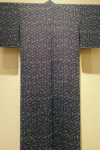 Here is another kimono with a more geometric style.