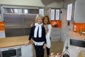 After the segment, Hoda and I posed for this fun snapshot. Enjoy your winter organizing.
