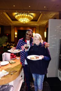 And we made a delicious brunch for everyone who attended. See you soon, Snoop.