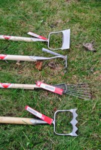 We love these Dutch made tools - several of them are also helpful outside.