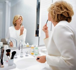 As you all know, I wear makeup every day because of all my public commitments. To keep my skin looking its best, I make sure to cleanse it well and use the best possible products - products I want you to have too. (Photo by Fadil Berisha) http://www.qvc.com/beauty/martha-stewart/_/N-rhtyZ1z140z9/c.html