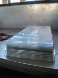Johnny's seed tray domes hold in moisture and warmth for germination.