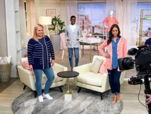 Here are three of the QVC models wearing the cardigans - these are so versatile. They are 100-percent cotton, and so comfortable.