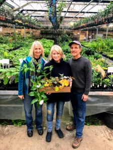I have known Byron Martin and Laurelynn Martin for many years. It is always so much fun to visit their wonderful nursery - I never leave empty handed.