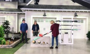 Here I am showing how to use one of our best sellers on QVC - my 10-inch Multi-Angle Electric Pole Chain Saw. This is so easy to use and very lightweight.