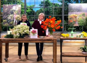 """Plus, if you haven't already pre-ordered my newest book, here's your chance to call and order your copy of """"Martha's Flowers"""" - expert advice and lessons on gardening and making the most of your blooms."""