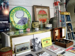 The museum also features photos, and other packaging labels and shellfish collectibles.