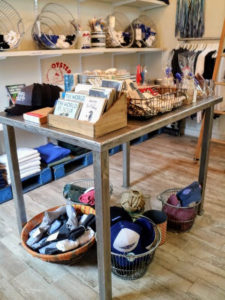"In 2015, Norm's daughter, Jeanne, opened ""The Oysterman's Daughter"", a small retail shop located at the boatyard, where boaters and beach lovers are able to shop for sea inspired pillows, hats, candles, and sweatshirts along with fresh oysters, clams and even lobsters."