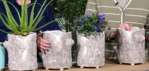 These planters are perfect for both indoor and outdoor use. They look great with shade and sun plants in all locations. And to clean, just wipe with a dry cloth.