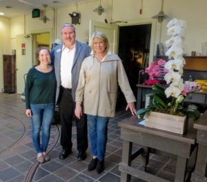 And here I am joined by Jim Sutton, Senior Horticultural Display Designer, and Olivia Fow, Display Design Intern. They gave us such a lovely tour - thank you, Jim and Olivia.