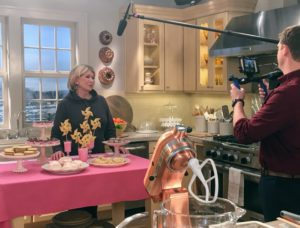Many of you always ask where I tape various broadcasts. Our Facebook LIVE was taped in our studio kitchen at the historic Starrett Lehigh building. This is our beautiful Martha Stewart Living Turkey Hill Kitchen from The Home Depot. http://www.homedepot.com/c/SPC_BRD_MSL_Kitchen