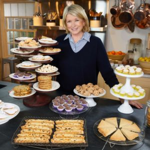 "I am so excited about this new season of ""Martha Bakes"". We made nearly 40 different cookies from around the world."