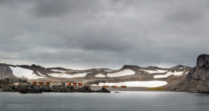 This is King George Island, the largest of the South Shetland Islands off the coast of Antarctica in the Southern Ocean.
