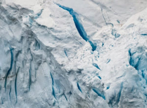 Lemaire Channel is a strait off Antarctica, between Kiev Peninsula in the mainland's Graham Land and Booth Island. Dr. Knapp took this photo to show the amazing details in the ice formations.