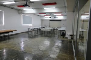 Here is another classroom - so very clean. The school also invites visiting lecturers, so students are exposed to other cultures and world views.