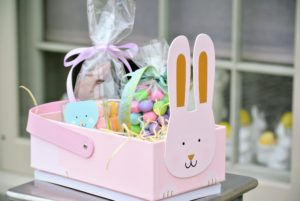Such adorable Easter baskets – practical, personal and sweet.