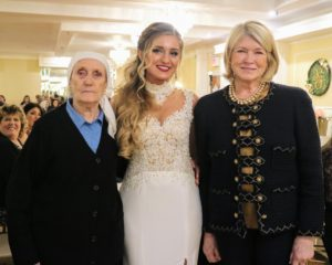 I joined Shqipe for this photo with her Aunt Sophia from Kosovo.