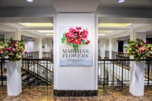 Christie's is a British auction house founded in 1766 by James Christie. This large book cover photo was placed just outside the room where the luncheon was held. (Photo by BFA Photographer, Joe Schildhorn)